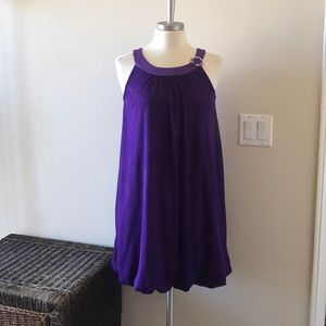 Other - Girls purple sparkly dress size 16
